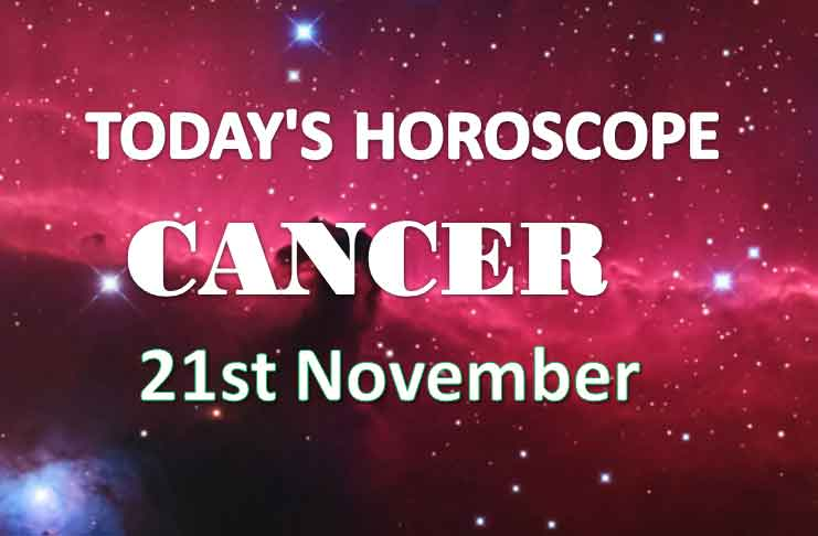 cancer daily horoscope 21st november 2020