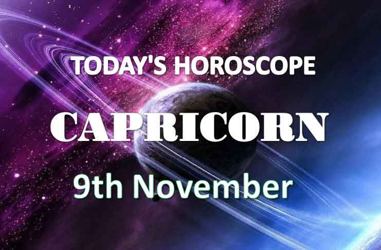 capricorn daily horoscope 9th november 2020