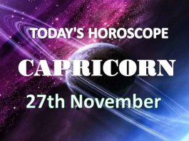 capricorn daily horoscope 27th november 2020