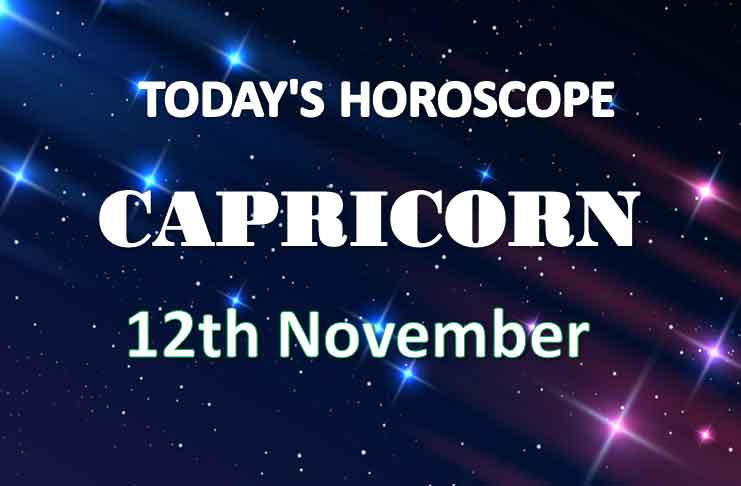 capricorn daily horoscope 12th november 2020