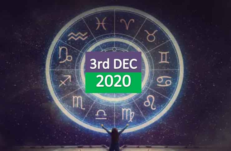 daily horoscope today 3rd december 2020