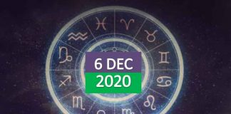 daily horoscope today 6th december 2020