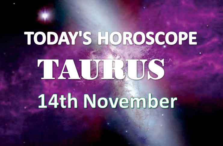 taurus daily horoscope 14th november 2020