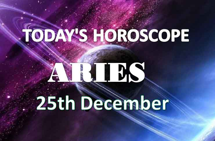 aries daily horoscope 25th december 2020
