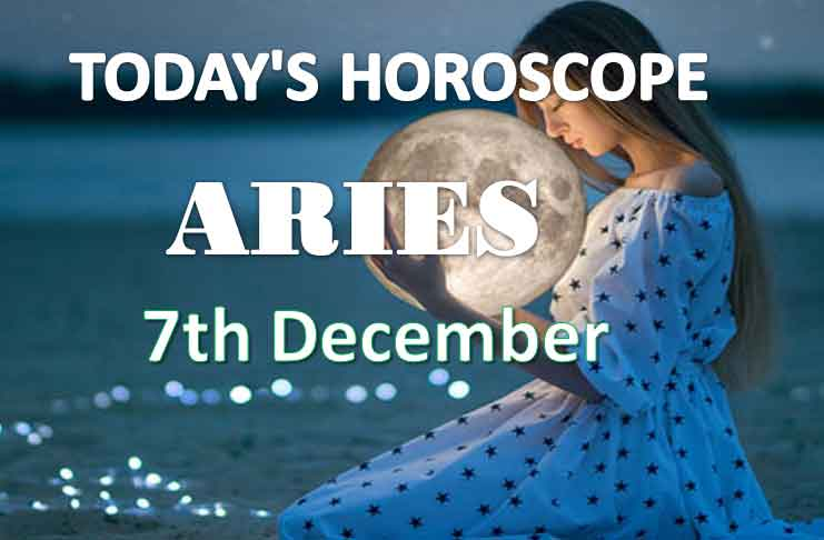 aries daily horoscope 7th december 2020