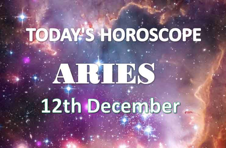 aries daily horoscope 12th december 2020