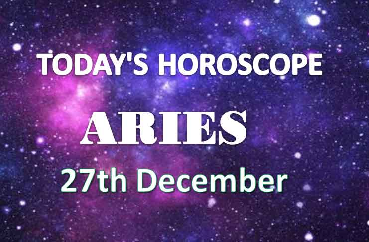 aries daily horoscope 27th december 2020