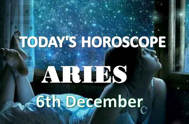 aries daily horoscope 6th december 2020