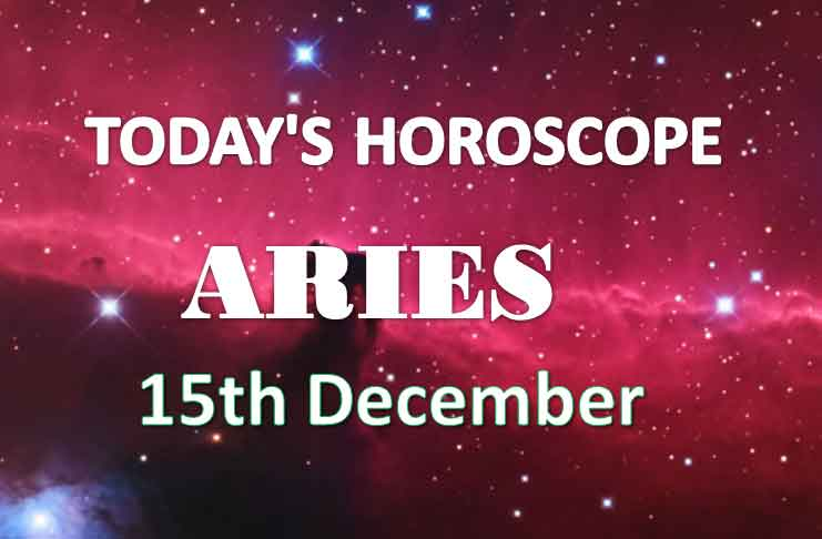 aries daily horoscope 15th december 2020