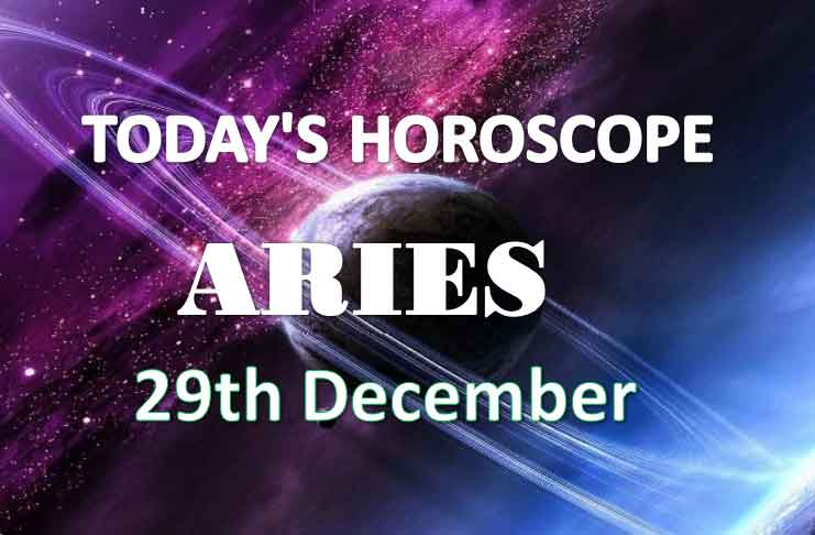 aries daily horoscope 29th december 2020