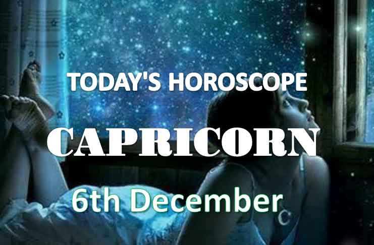 capricorn daily horoscope 6th december 2020