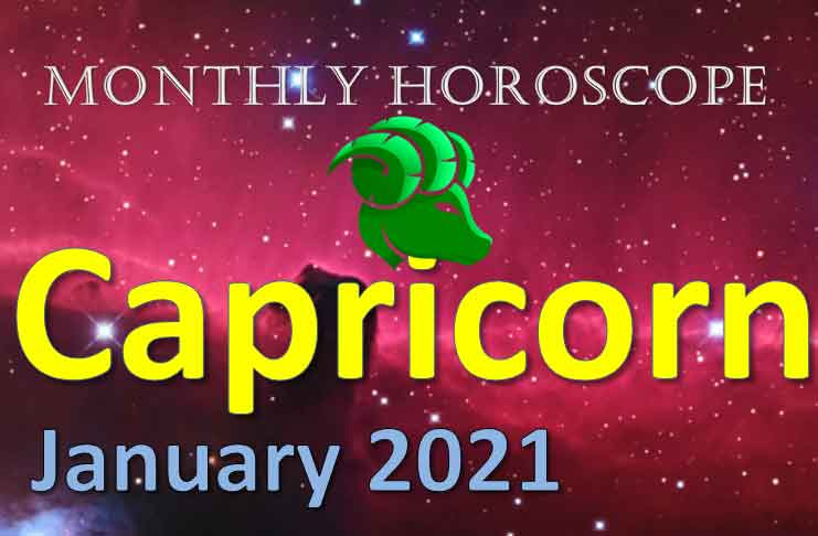 capricorn monthly horoscope january 2021
