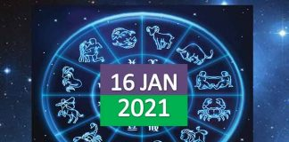 daily horoscope today 16th january 2021