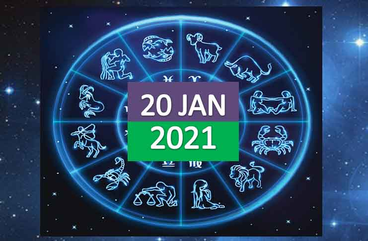 daily horoscope today 20th january 2021