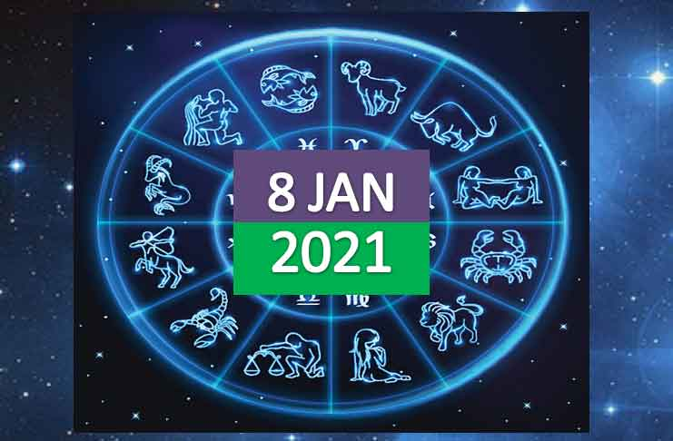 daily horoscope today 8th january 2021
