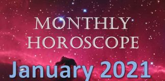 monthly horoscope january 2021