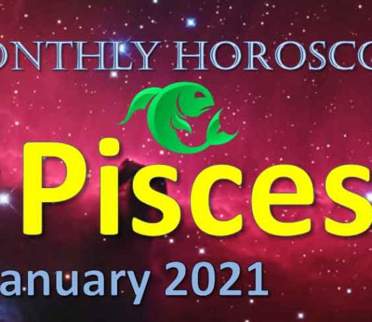pisces monthly horoscope january 2021