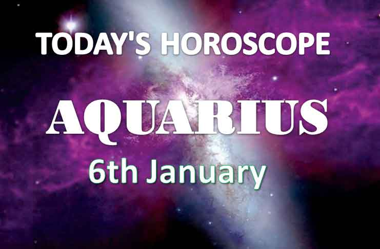 aquarius daily horoscope 6th january 2021