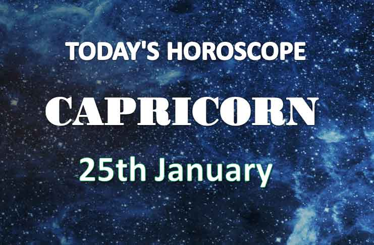 capricorn daily horoscope 25th january 2021