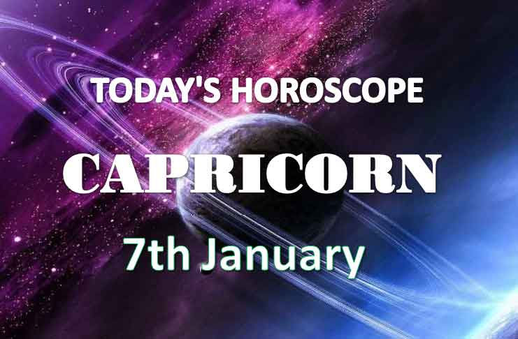 capricorn daily horoscope 7th january 2021