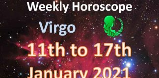 virgo weekly horoscope 11th to 17th january 2021