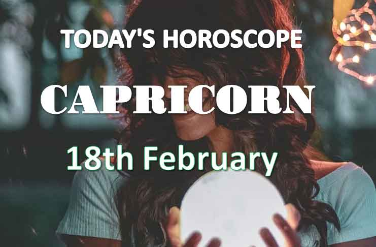 capricorn daily horoscope 18th february 2021