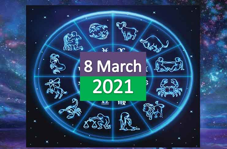 daily horoscope today 8th march 2021
