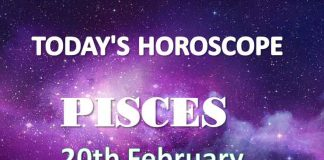 pisces daily horoscope 20th february 2021