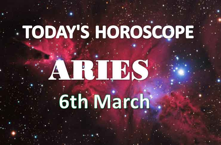 aries daily horoscope 6th march 2021