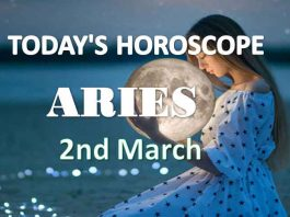aries daily horoscope 2nd march 2021