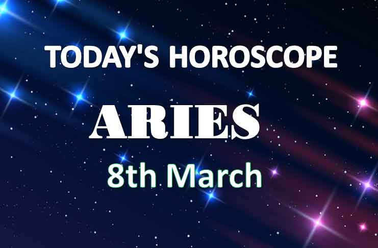 aries daily horoscope for today monday march 8th 2021