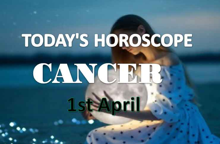 cancer daily horoscope for today thursday april 1st 2021