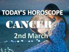 cancer daily horoscope 2nd march 2021