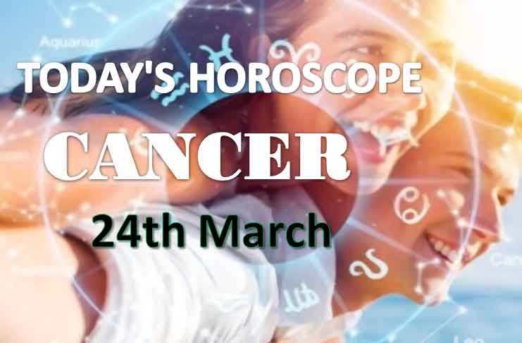 cancer daily horoscope for today wednesday march 24th 2021