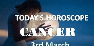 cancer daily horoscope 3rd march 2021