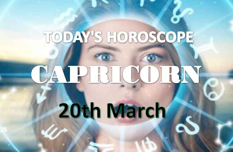 capricorn daily horoscope for today saturday march 20th 2021