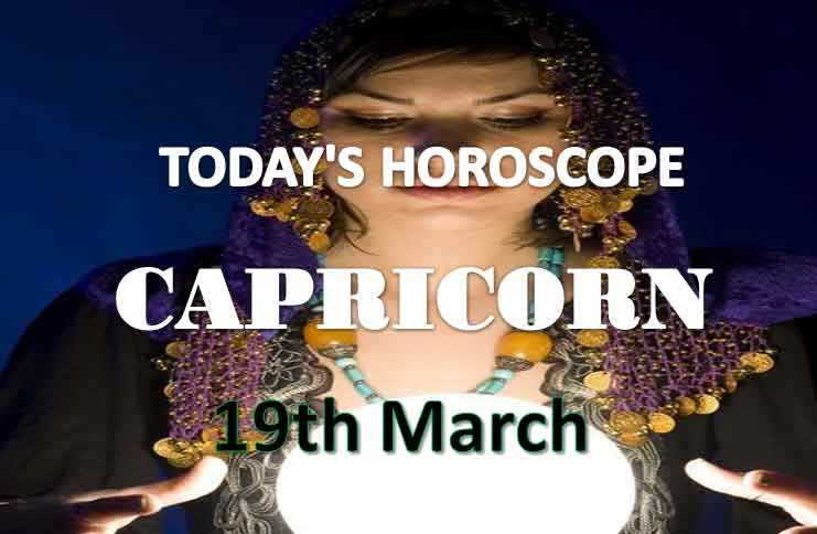 capricorn daily horoscope for today friday march 19th 2021