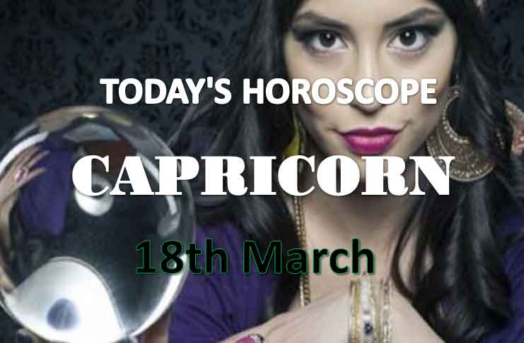 capricorn daily horoscope for today thursday march 18th 2021