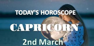 capricorn daily horoscope 2nd march 2021