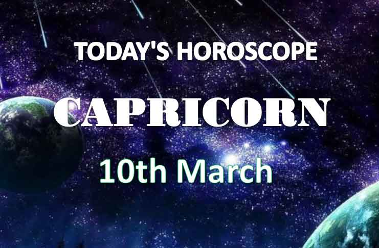 capricorn daily horoscope for today wednesday march 10th 2021