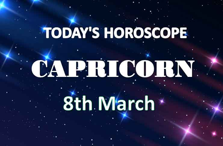 capricorn daily horoscope for today monday march 8th 2021