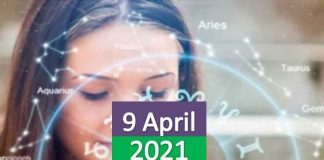daily horoscope today 9th april 2021