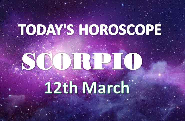 scorpio daily horoscope for today friday march 12th 2021