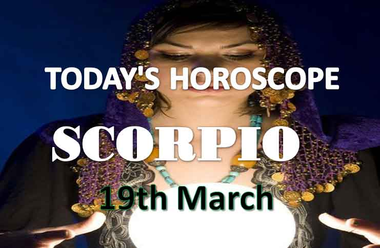 scorpio daily horoscope for today friday march 19th 2021