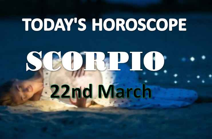 scorpio daily horoscope for today monday march 22nd 2021