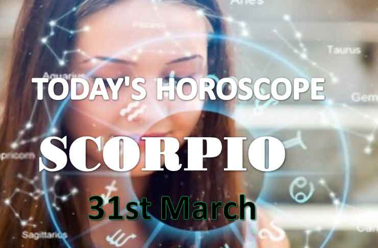 scorpio daily horoscope for today tuesday march 31st 2021