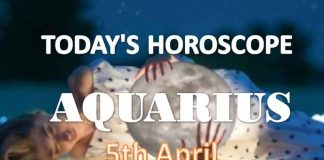 aquarius daily horoscope for today monday april 5th 2021