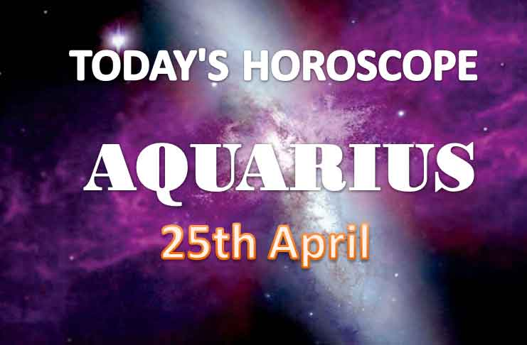 aquarius daily horoscope for today sunday april 25th 2021