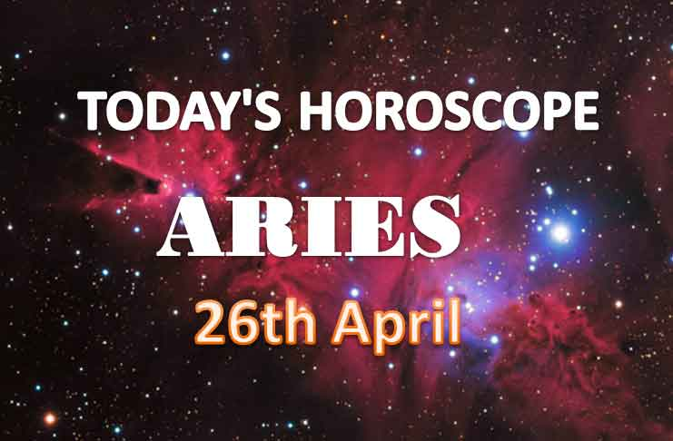 aries daily horoscope for today monday april 26th 2021