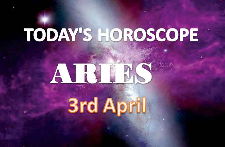 aries daily horoscope for today saturday april 3rd 2021